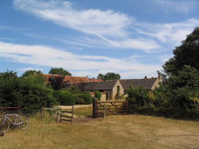 Bridleway at Lodge Barn
