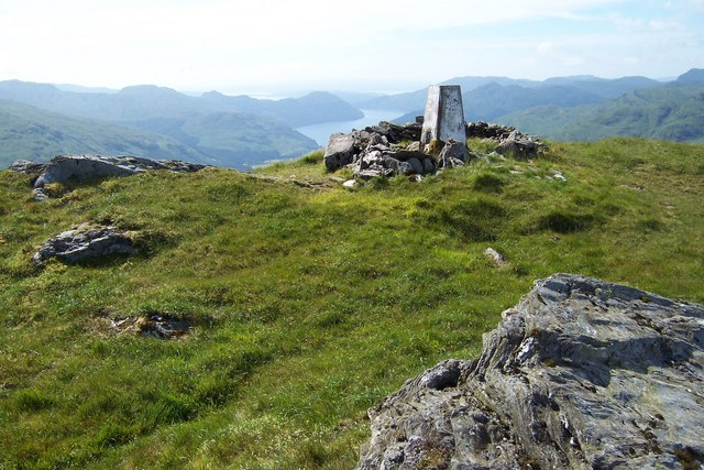 Summit of Stob an Eas