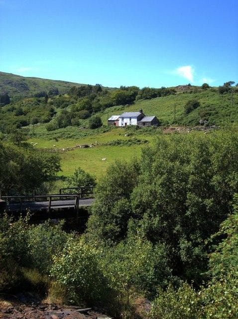 Coed Mawr farm