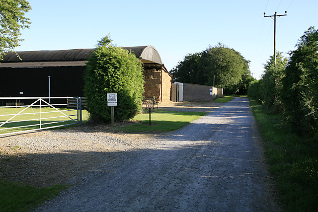 Farm buildings at Pennings Farm, nr Coombe Bissett