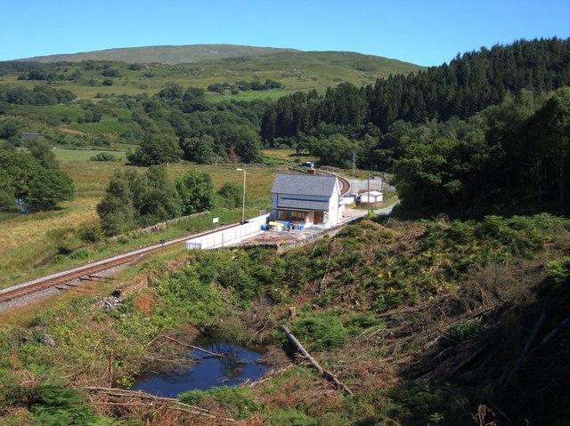 Pont Rufeinig station