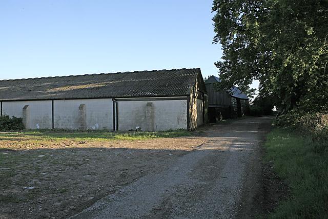 Farm buildings at Down Barn, nr Homington