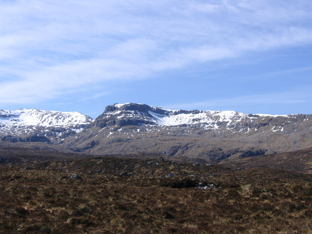 Peat near the Fionn Allt in Assynt