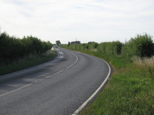 The B1228 towards Bubwith