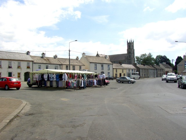 Street Market, Baltinglass, Co. Wicklow