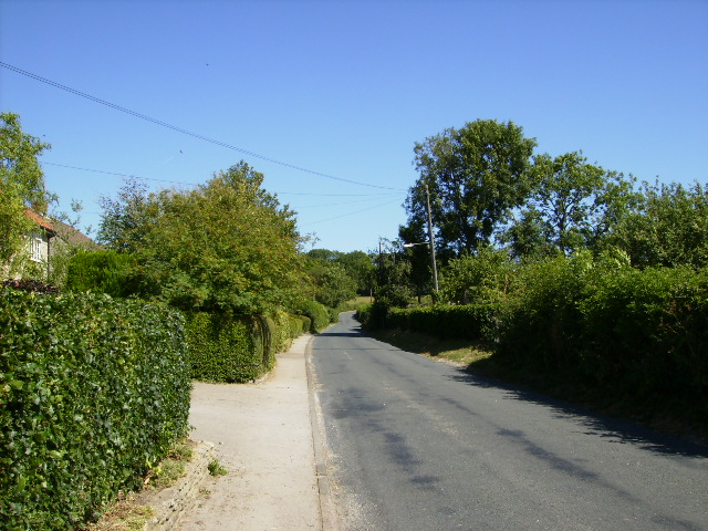 Road from Helmsley to Carlton (North Yorkshire)