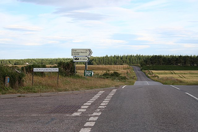 The Loch Flemmington junction.