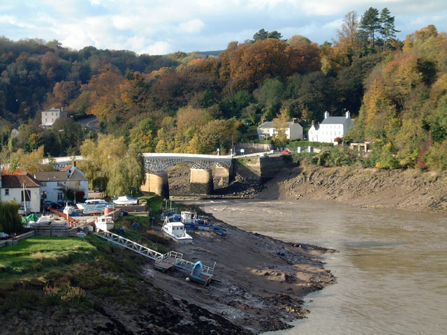 The Back and Chepstow Bridge