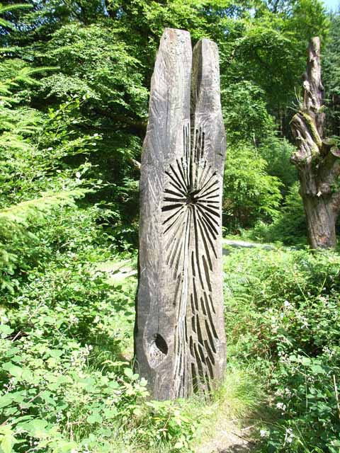 Grizedale Forest sculpture