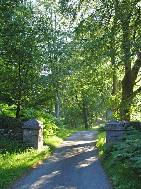 Old gateway near Graythwaite