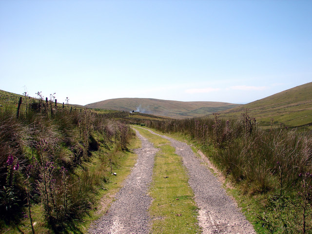 Track at Rhydcriw
