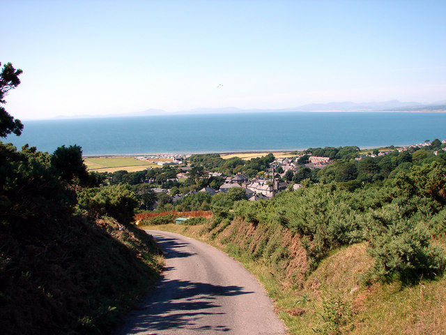 Lane down to Llwyngwril