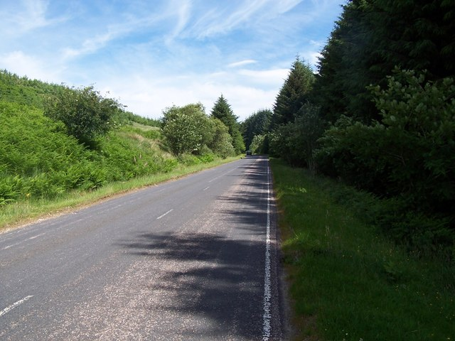 Glendaruel, Road at Caol Ghleann