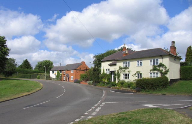 Houses on Leicester Road