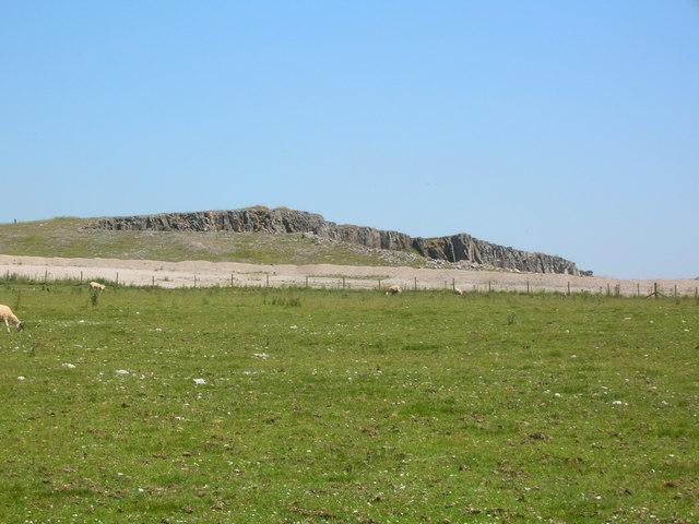 Edge of Hillhead Quarry