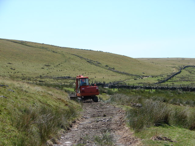 Repairing the track at Twllydarren