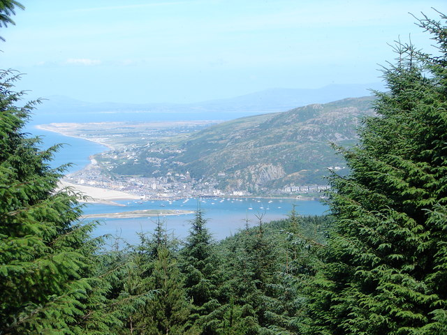 View of Barmouth and beyond