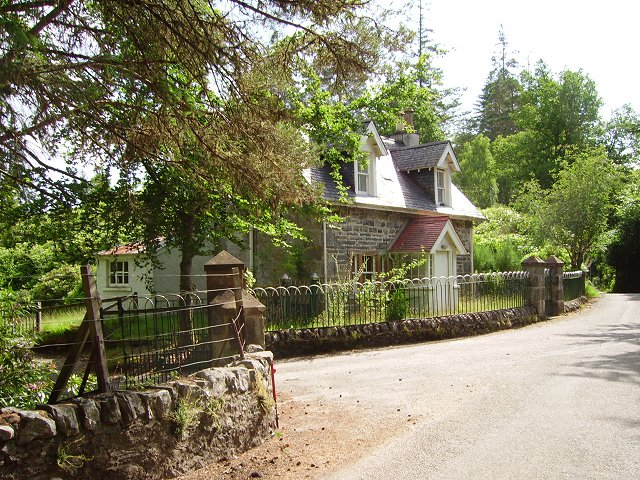 Lodge, Scatwell House.