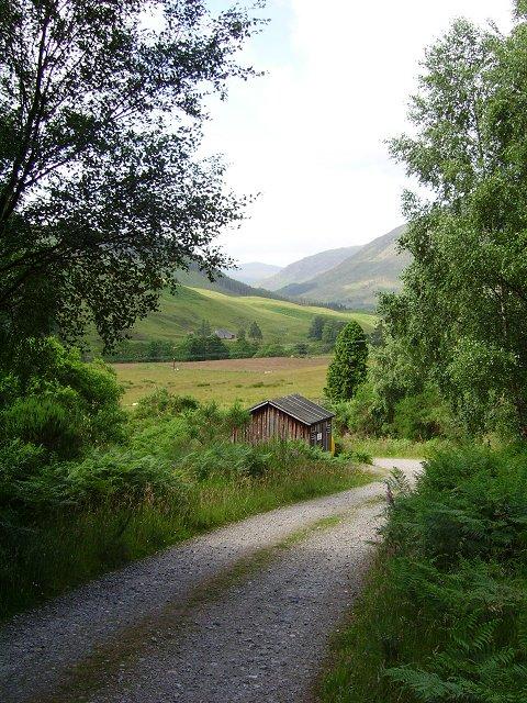 Forestry hut, Millton