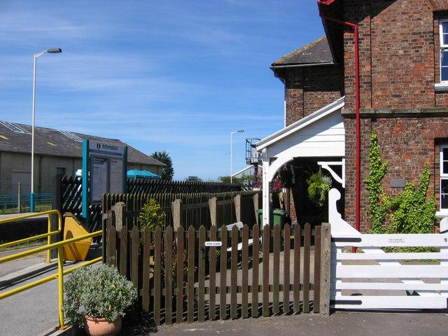 Hunmanby Station