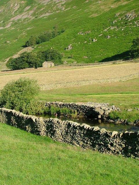 Barn, Grisedale Beck