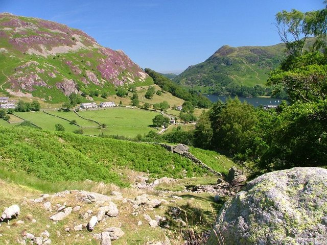 Boulder in Wall, Overlooking Glenridding