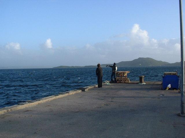 Mackerel Fishing at Badentarbat Pier