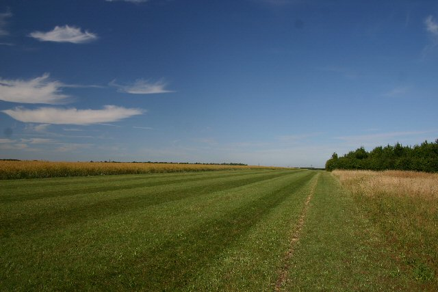Private airstrip at Appleacre Farm