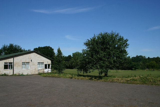Stansfield village hall and cricket pitch