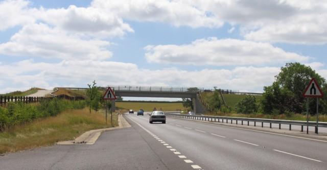 A6 towards Market Harborough