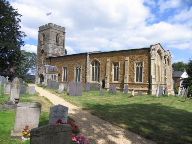 St Andrew's Burton Overy
