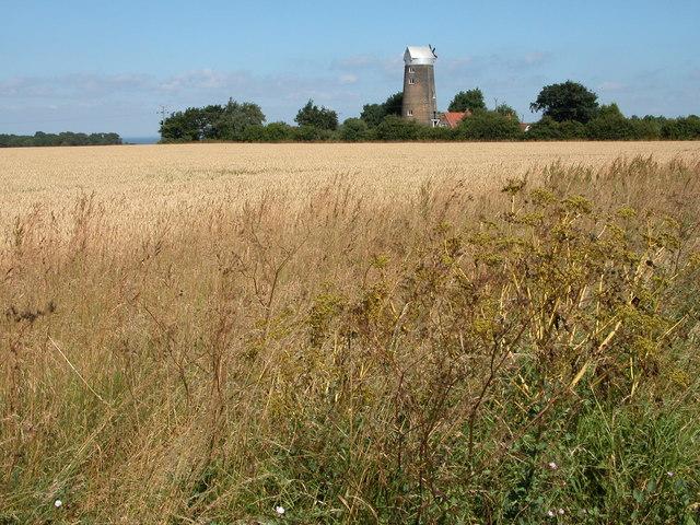 Windmill near Ringstead