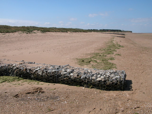 Beach to the north-east of Old Hunstanton