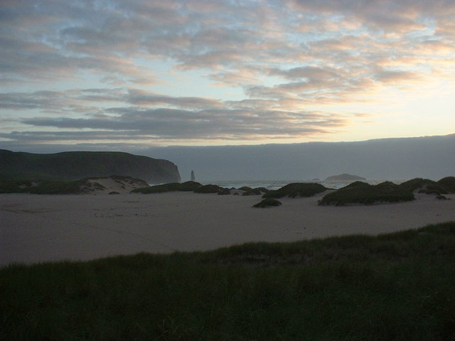 Sand Dunes at Sandwood Bay