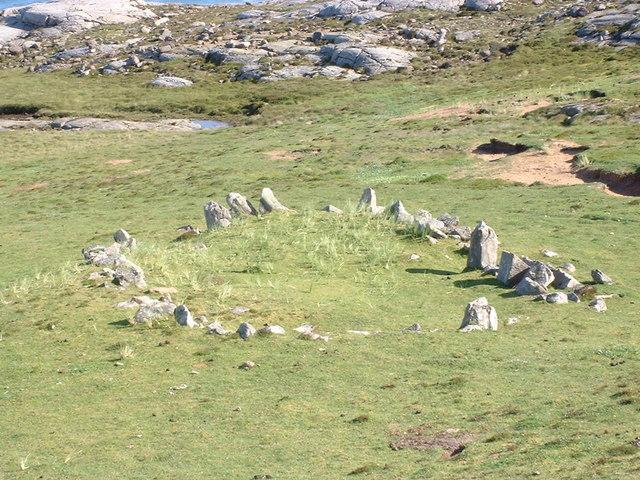 Ancient Ruin above Sandwood Bay