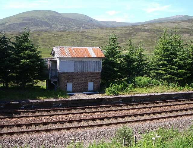 Former station, Dalnaspidal