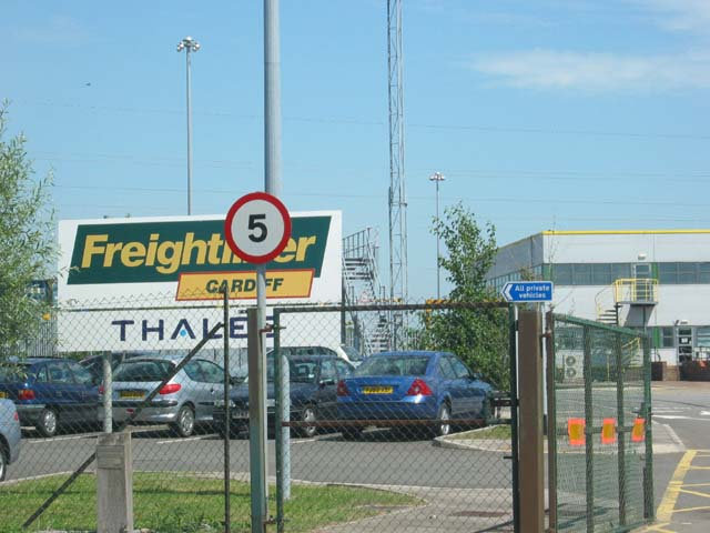 Cardiff Freightliner Terminal