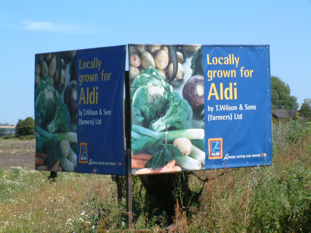 Locally Grown For Aldi