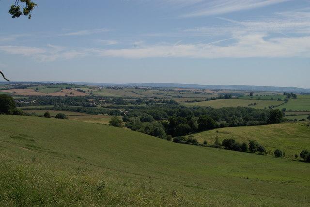 Pasture near Spa Wood Brill