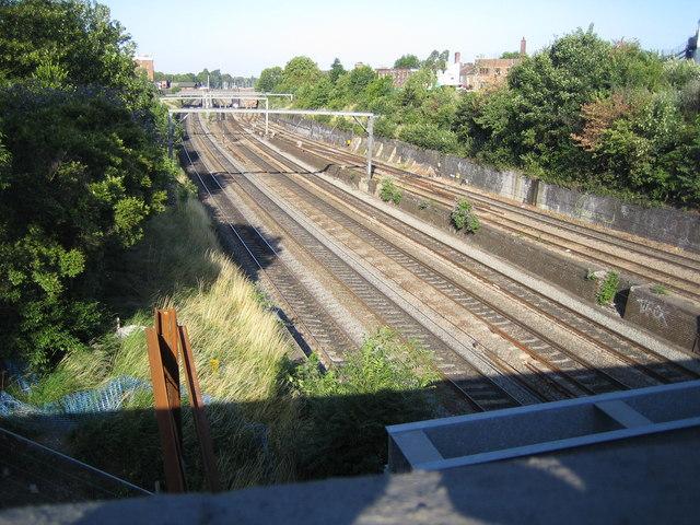 Acton: Main line railway