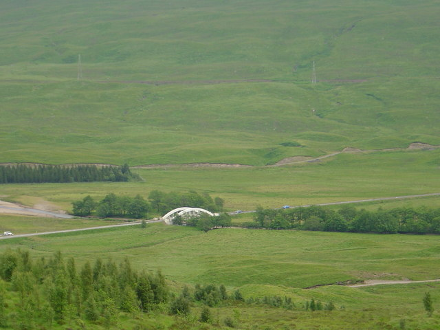 Bridge on A82.(Loch Tulla)