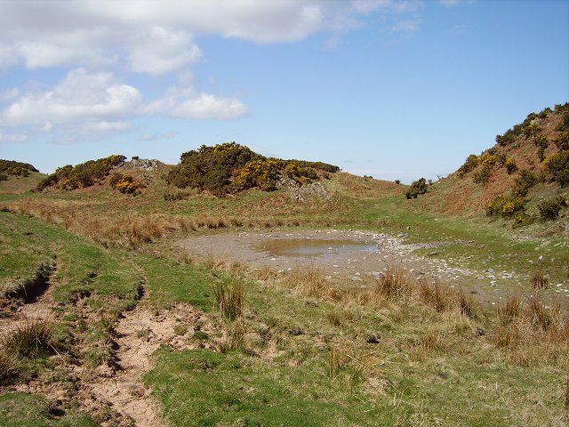 Pond near Hare Crags