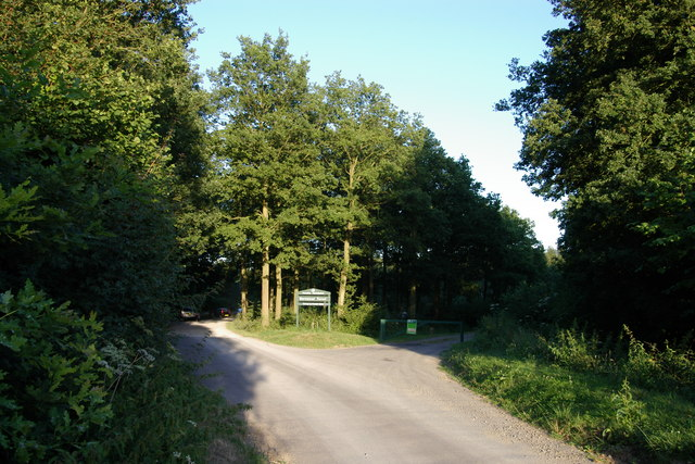 Entrance to Bernwood Forest