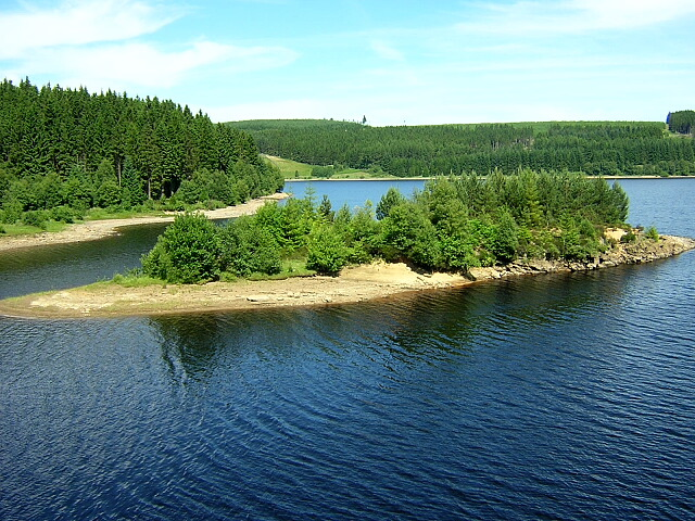 Island in Kielder Water