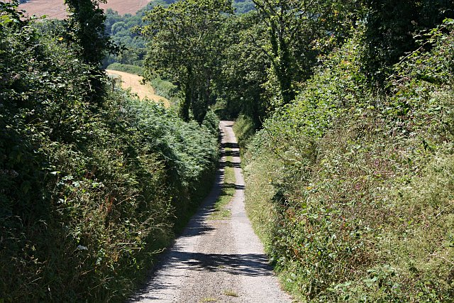 Steep Lane to Millendreath
