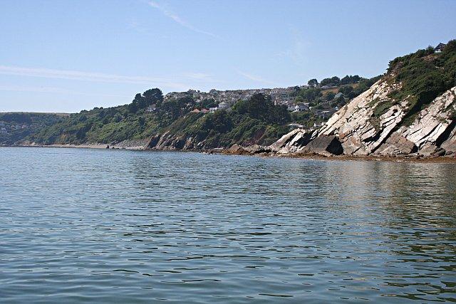 The Coastline below Plaidy