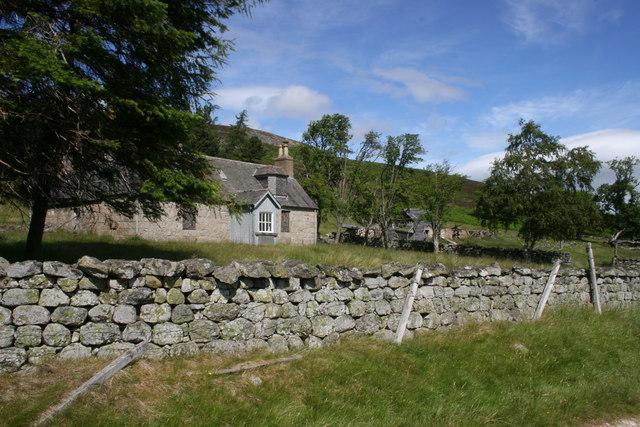 Loinveg in Glen Girnock