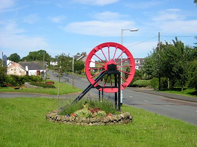 Memorial in Rowanburn