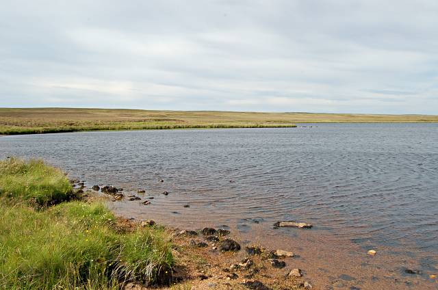 Loch a Mhuilinn SW shore and moorland