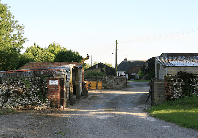 Pennings Farmhouse and buildings, nr Coombe Bissett